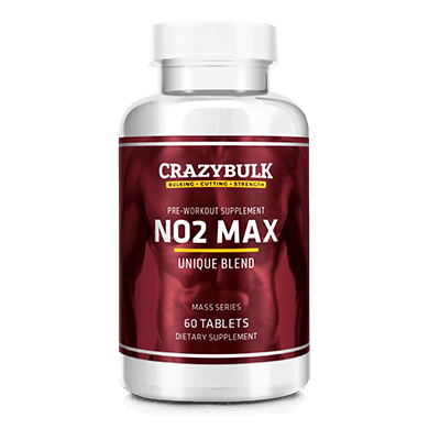 CrazyBulk NO2 Max: Pre-Workout Tillæg for nitrogenoxid Boost
