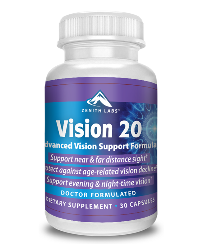 Vision 20 Eyes Supplement door Zenith labs Reviews – Scam of Legit?