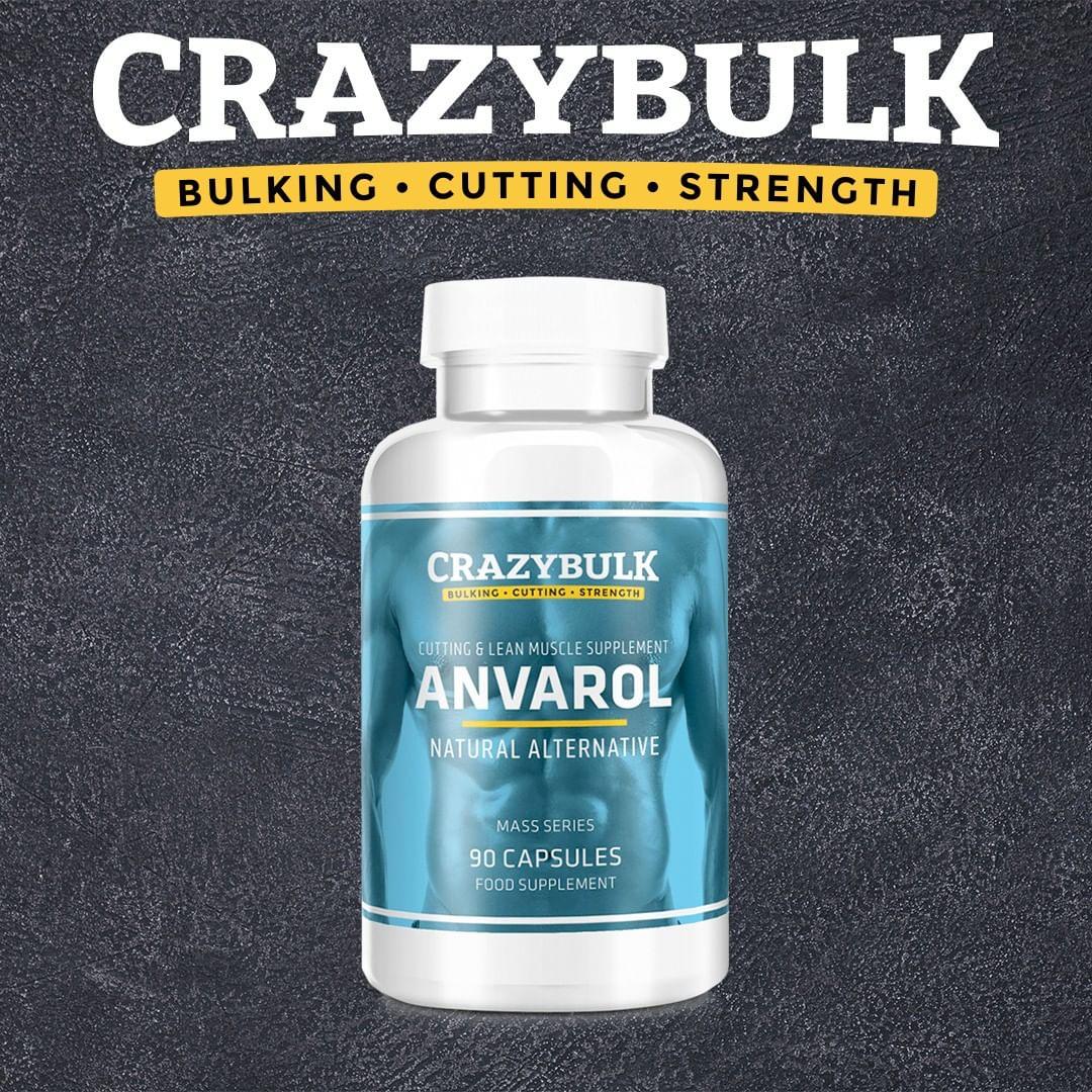 Crazy Bulk Anvarol Review og Resultat – naturlig erstatning for anabolske Anavar